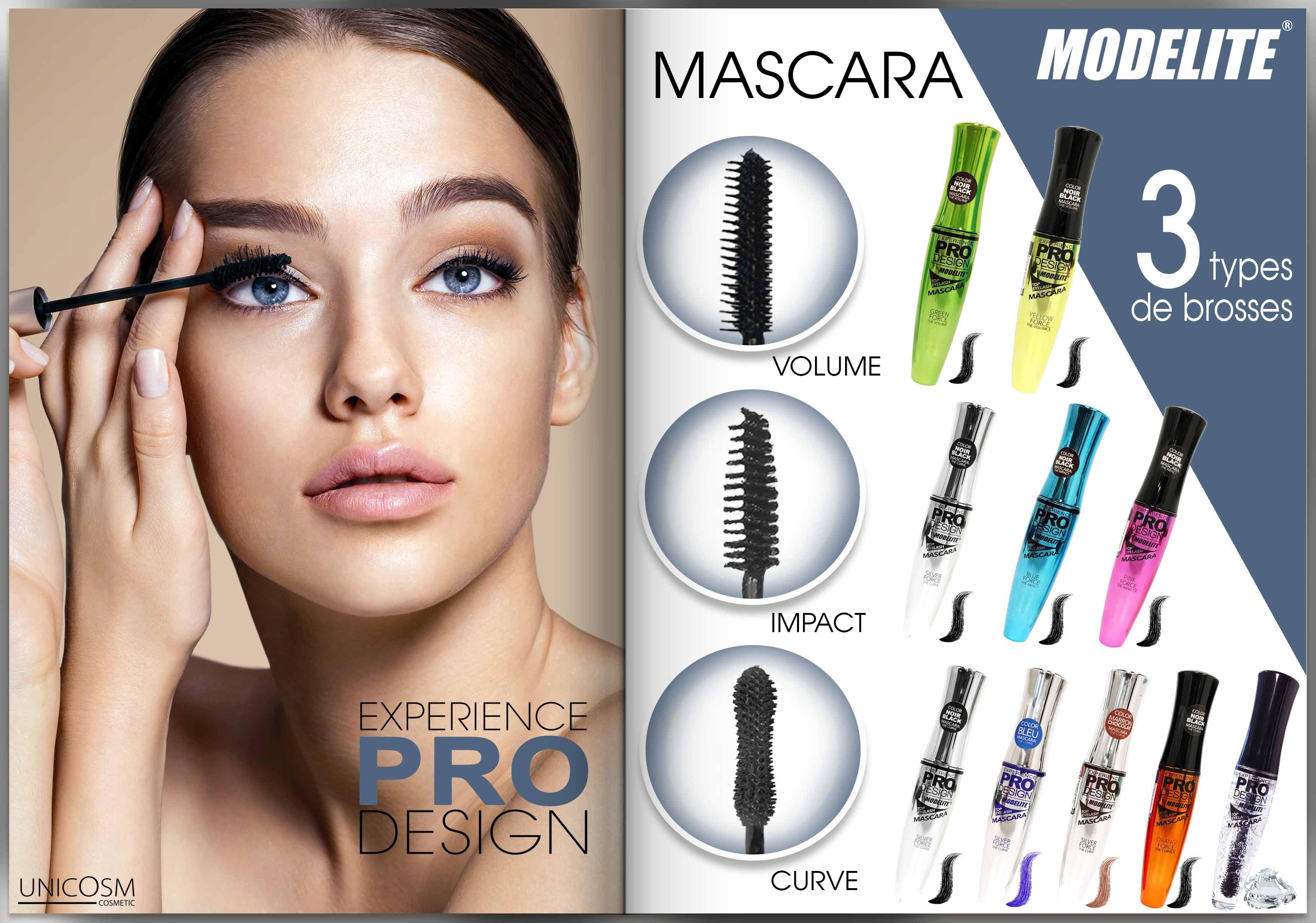 Brosses mascara Modelite