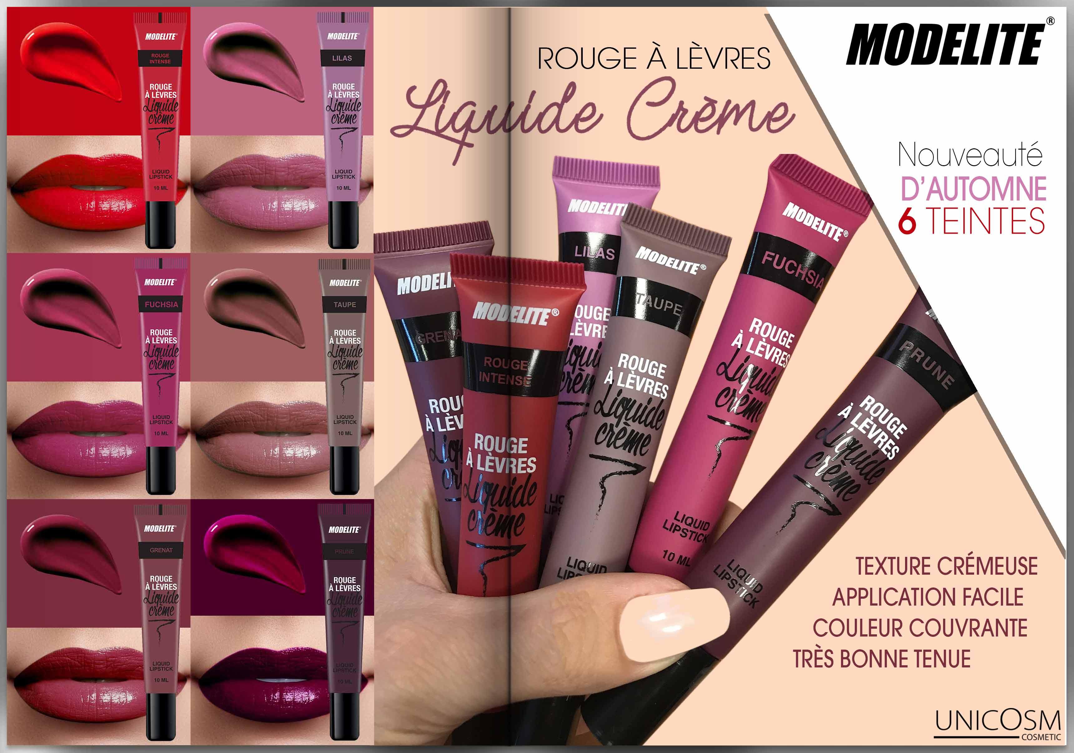 Rouge à lèvres liquide crème Modelite